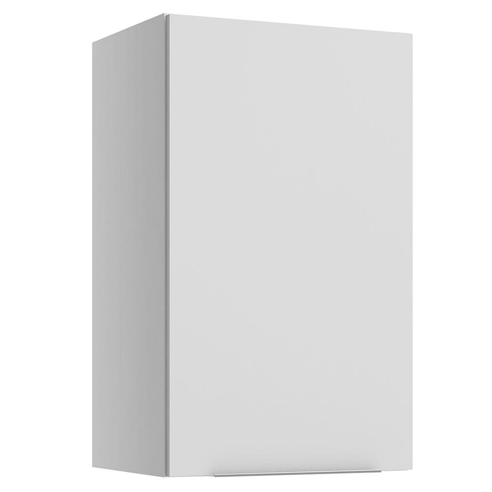 Armário Aéreo Madesa Stella 40 cm 1 Porta Branco