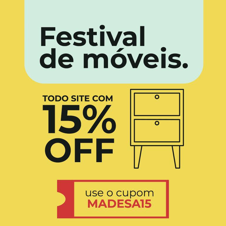 Festival dos moveis 15 OFF