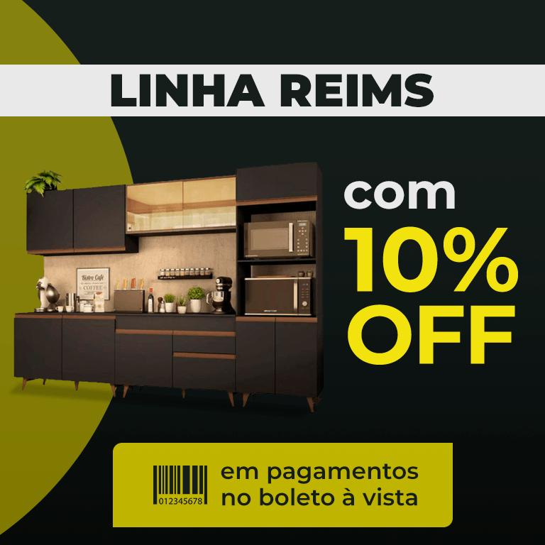 LINHA REIMS 10% BOLETO