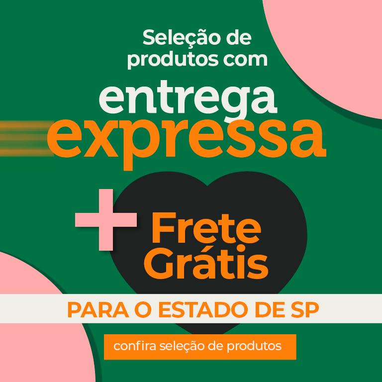 FRETE GRATIS E ENTREGA EXPRESSA SP