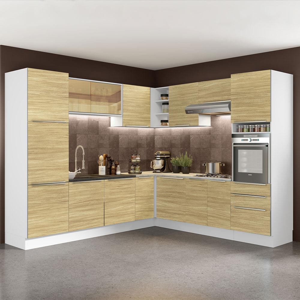 01-GCLX546003F3-ambientado-cozinha-completa-madesa-lux-546003-com-armario-balcao