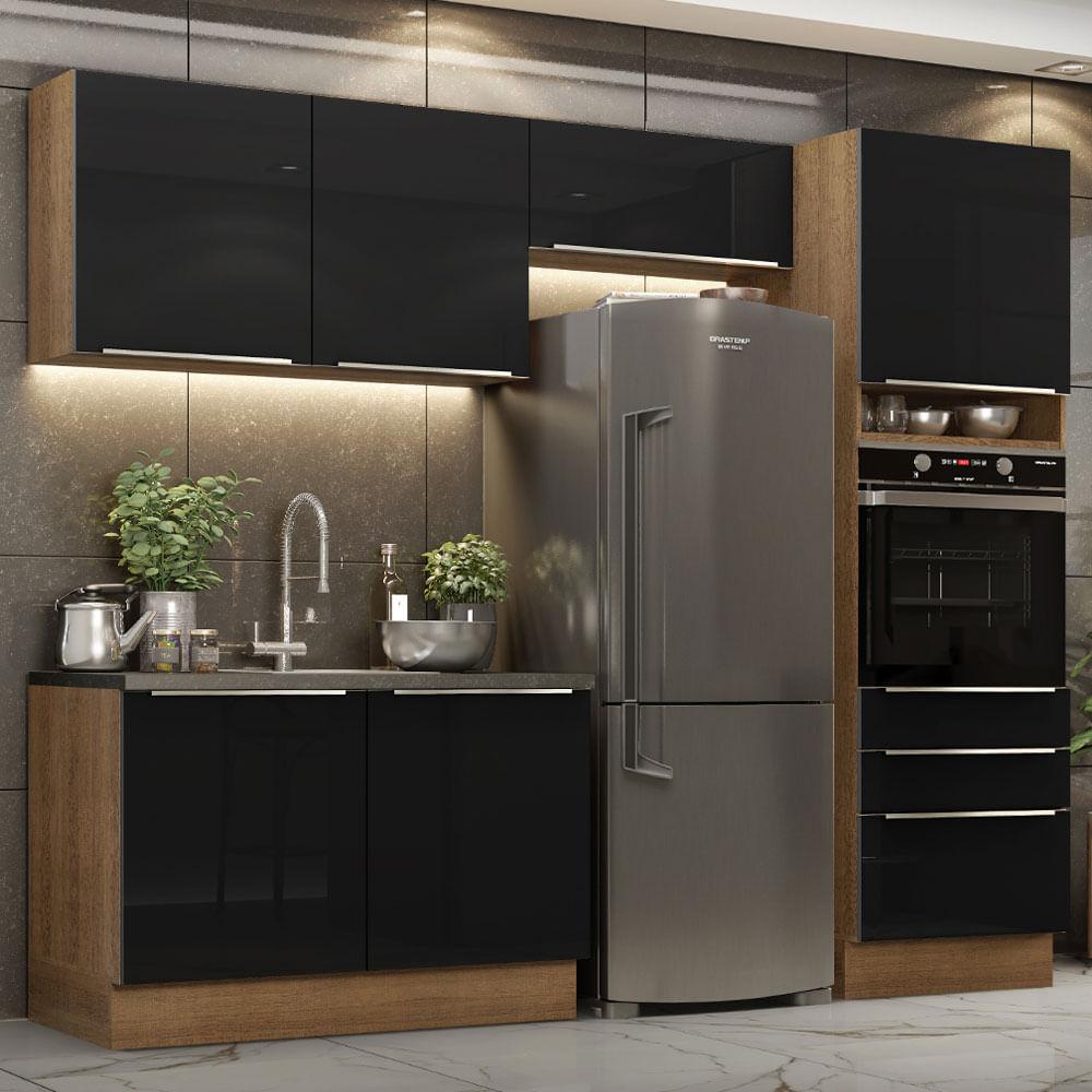 01-GRLX2600057K-ambientado-cozinha-completa-madesa-lux-260005-com-armario-balcao