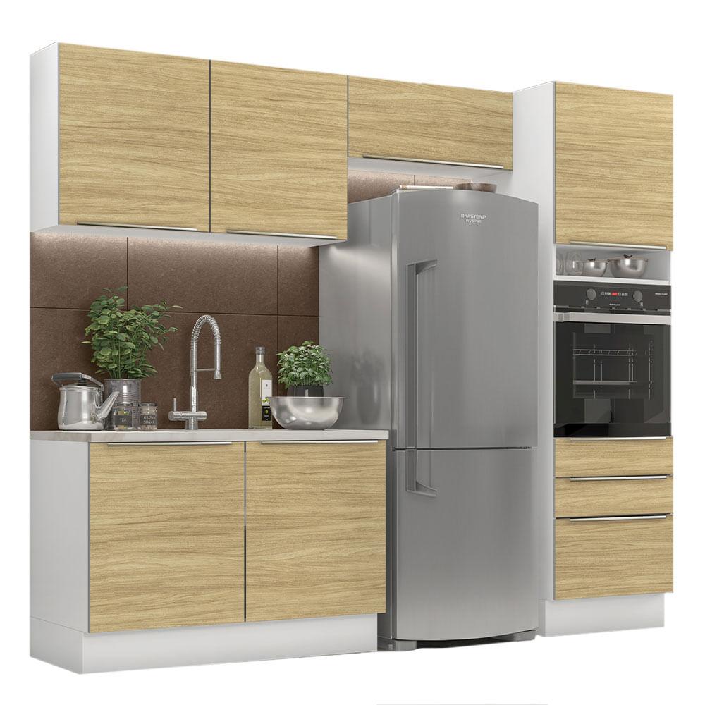 02-GRLX260005F3-perspectiva-com-decoracao-cozinha-completa-madesa-lux-260005-com-armario-balcao