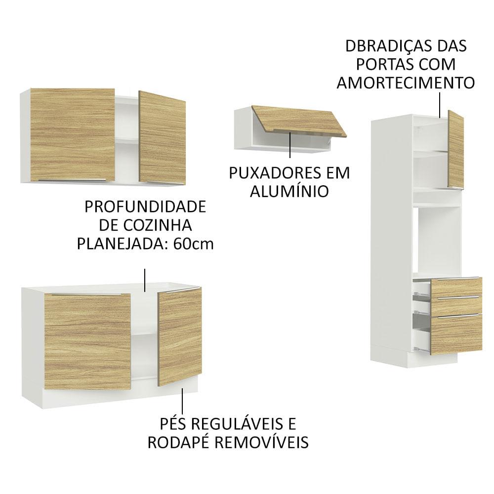 04-GRLX260005F3-portas-gavetas-abertas-cozinha-completa-madesa-lux-260005-com-armario-balcao