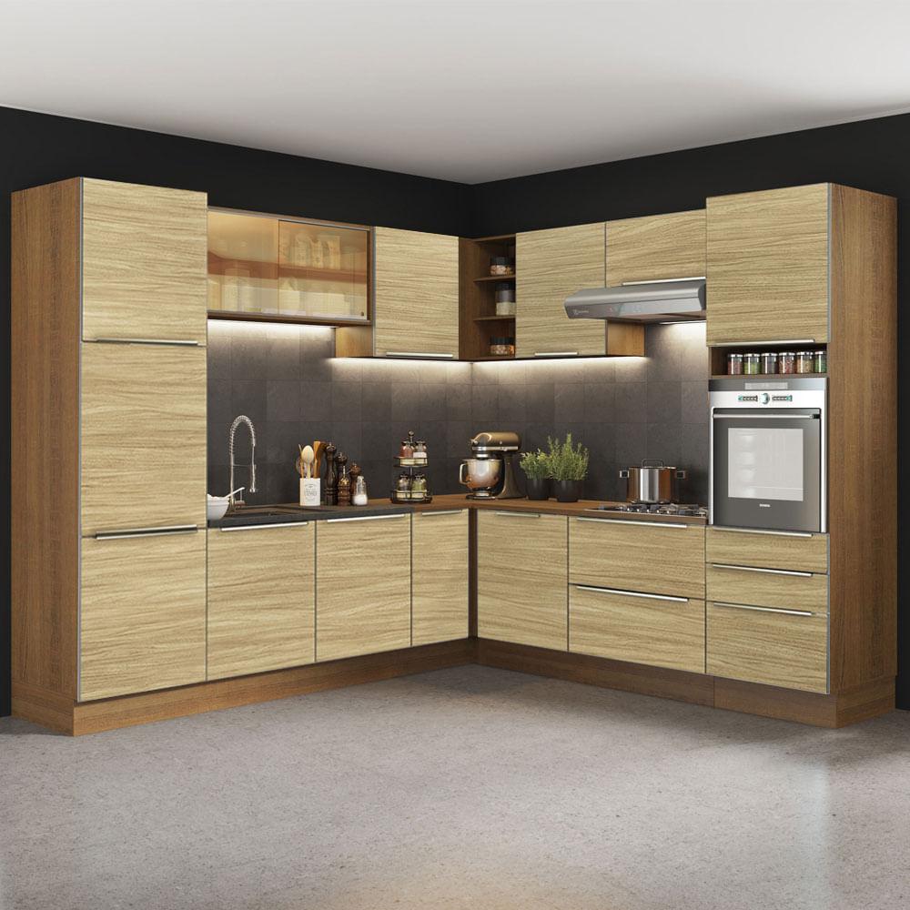 01-GCLX546001F5-ambientado-cozinha-completa-canto-madesa-lux-546001-com-armario-balcao