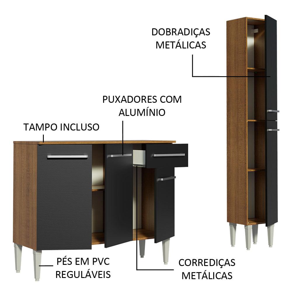 04-GREM1370017K-portas-gavetas-abertas-cozinha-compacta-madesa-emilly-137001-com-armario-balcao