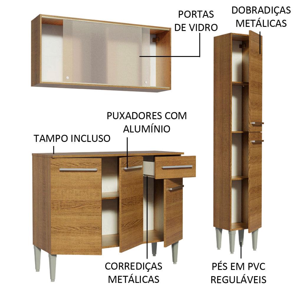 04-GREM1370025Z-portas-gavetas-abertas-cozinha-compacta-madesa-emilly-137002-com-armario-balcao