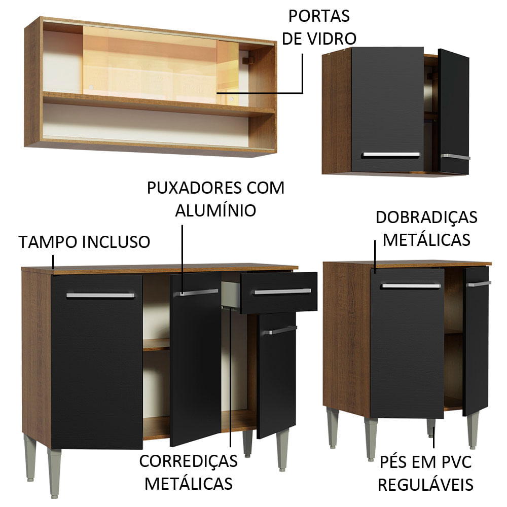 04-GREM1690077K-portas-gavetas-abertas-cozinha-completa-madesa-emilly-169009-com-armario-balcao