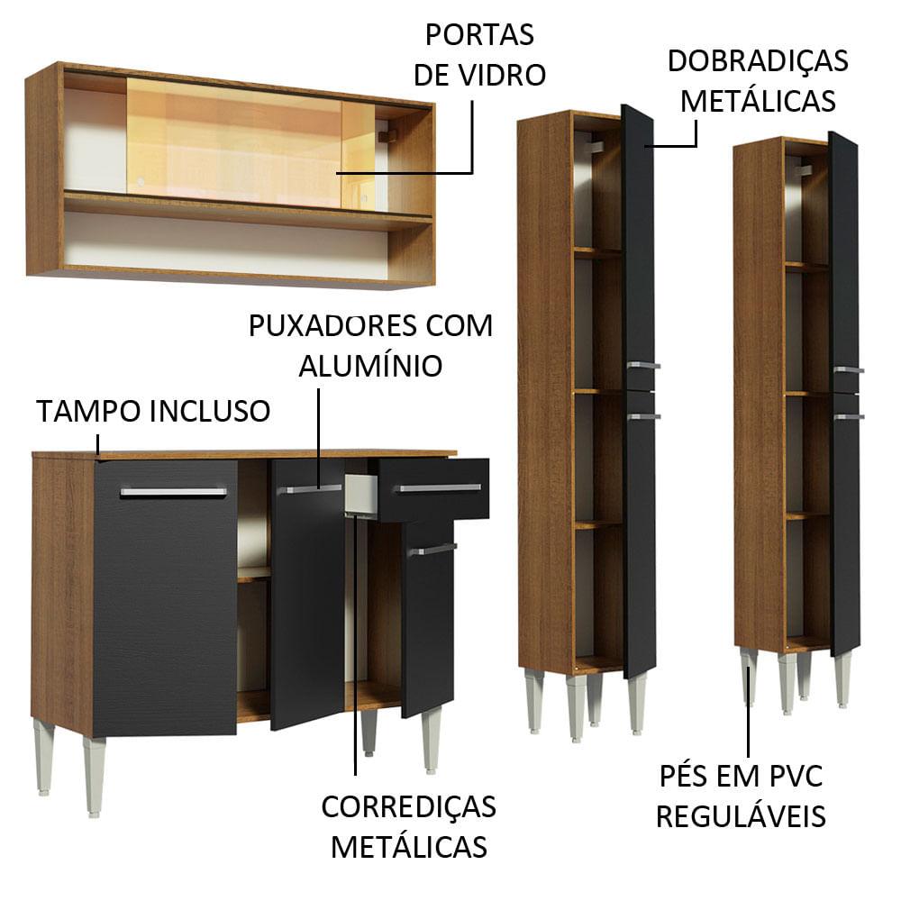 04-GREM1690087K-portas-gavetas-abertas-cozinha-completa-madesa-emilly-169008-com-armario-balcao
