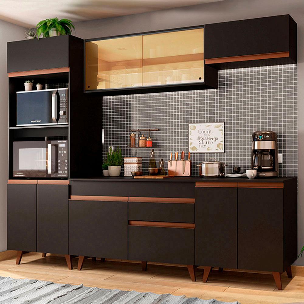 01-GRRM2600028N-ambientado-cozinha-completa-madesa-reims-260002-com-armario-balcao
