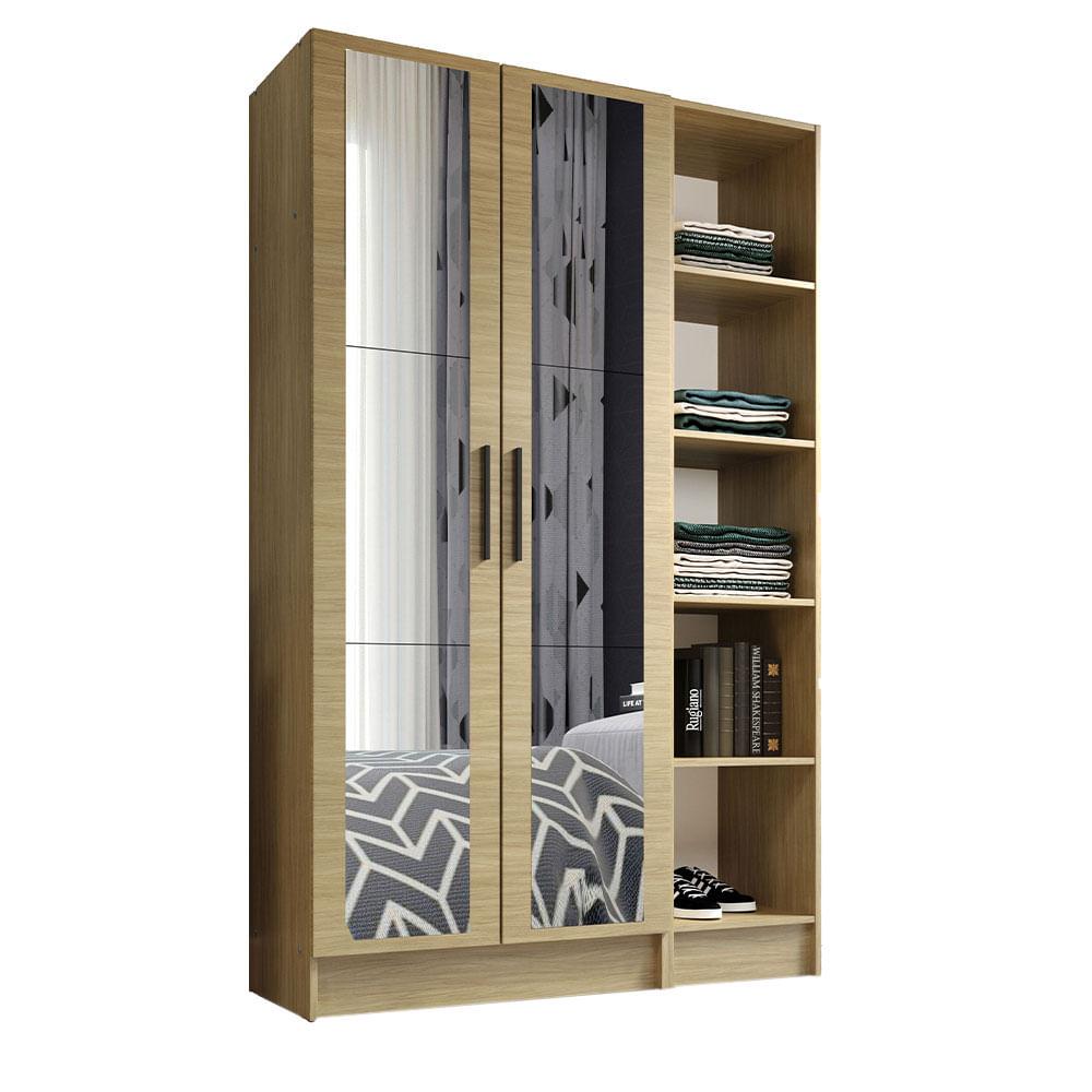 02-MDNI12000475-perspectiva-guarda-roupa-modulado-madesa-nilo-120004-com-espelhos-2-pecas