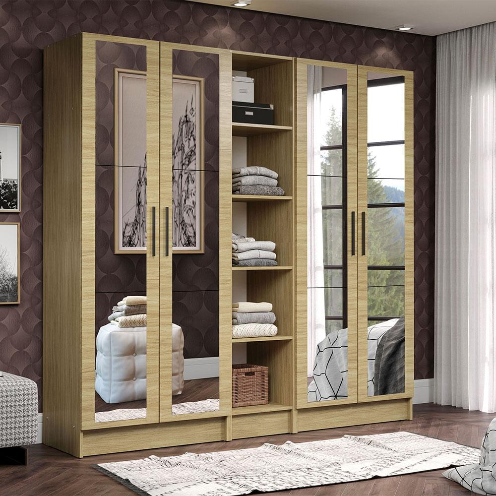 01-MDNI20000375-ambientado-guarda-roupa-modulado-madesa-nilo-200003-com-espelhos-3-pecas