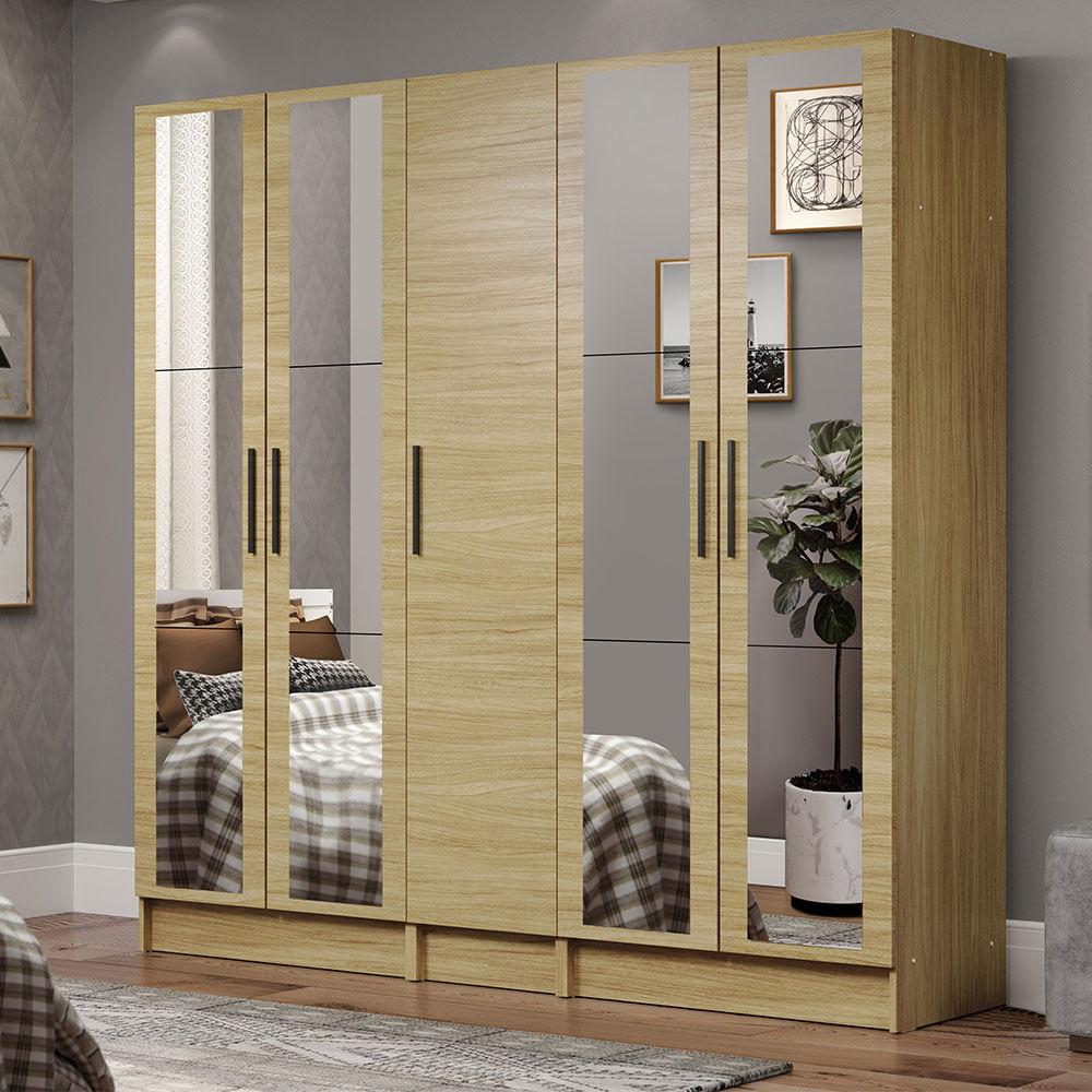 01-MDNI20000475-ambientado-guarda-roupa-modulado-madesa-nilo-200004-com-espelhos-3-pecas
