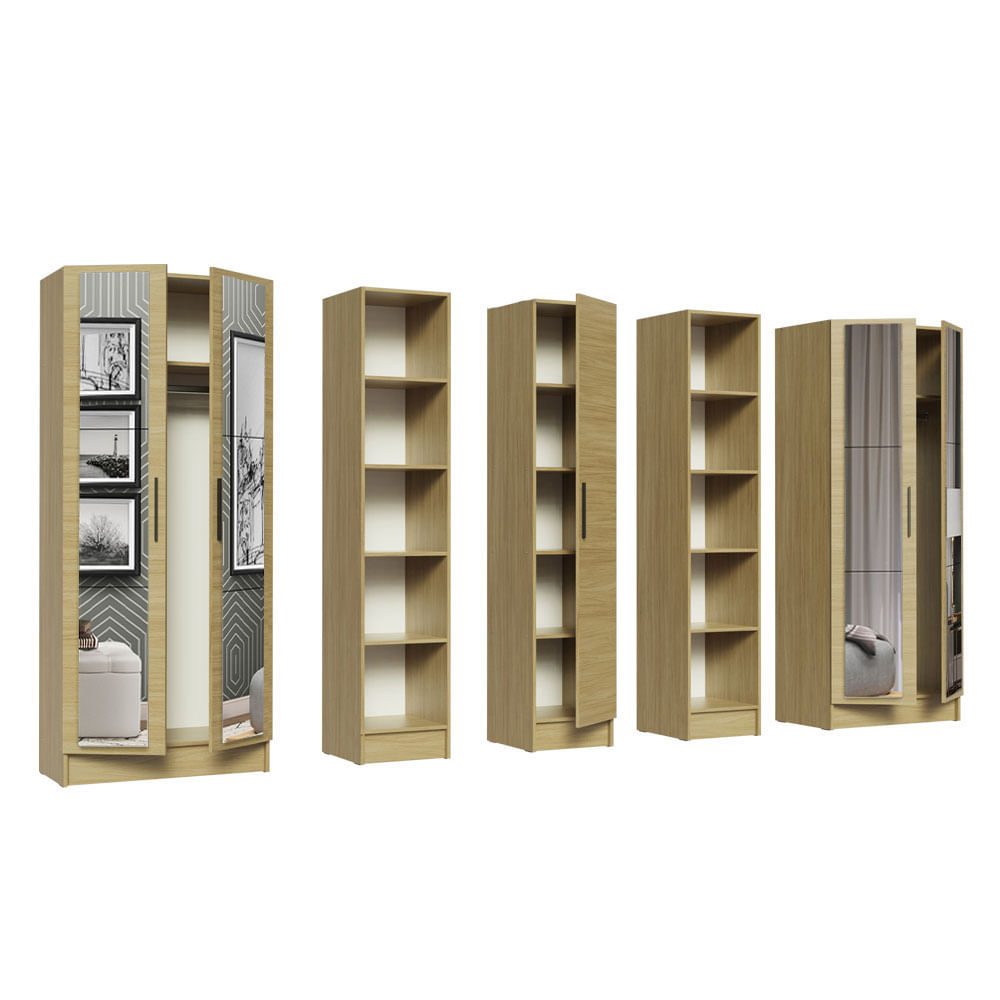 04-MDNI28000475-portas-abertas-guarda-roupa-modulado-madesa-nilo-280004-com-espelhos-5-pecas
