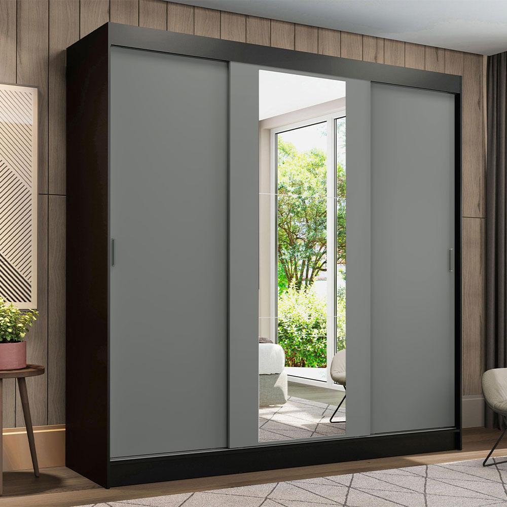 01-1095H91E-ambientado-guarda-roupa-casal-madesa-reno-3-portas-de-correr-com-espelho